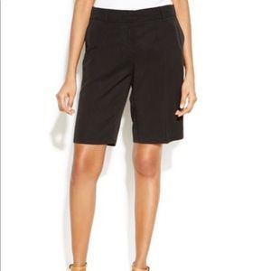 Eileen Fisher Tapered Black Shorts